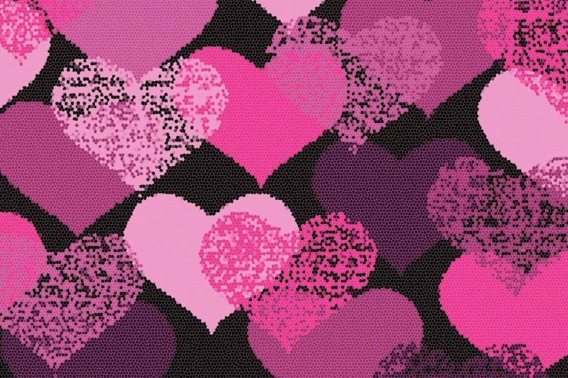 hearts wallpaper 2560x1440 for mobile