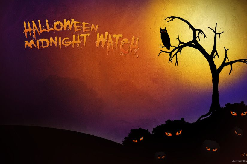 Halloween midnight watch for 1920x1080