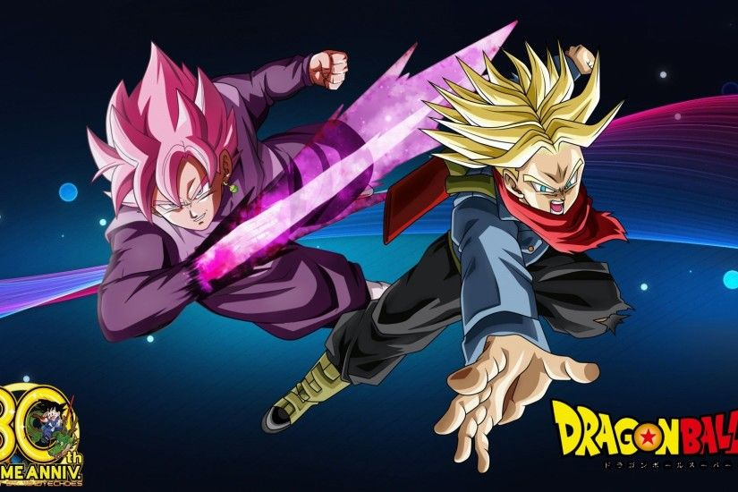 ... Goku Black And Future Trunks Wallpaper HD DBS by WindyEchoes