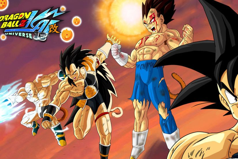 Goku And Vegeta Dragon Ball Z KAI HD Wallpaper 1305