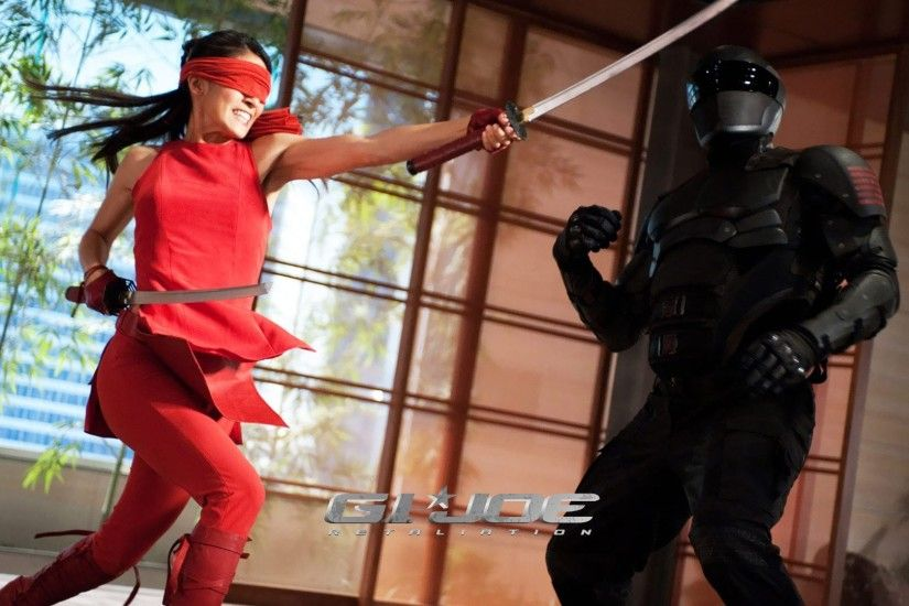 Jinx And Snake Eyes - G.I. Joe Retaliation
