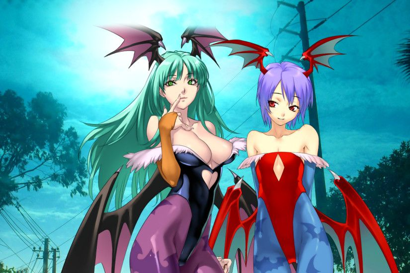 Morrigan and Lilith by Light-Rock