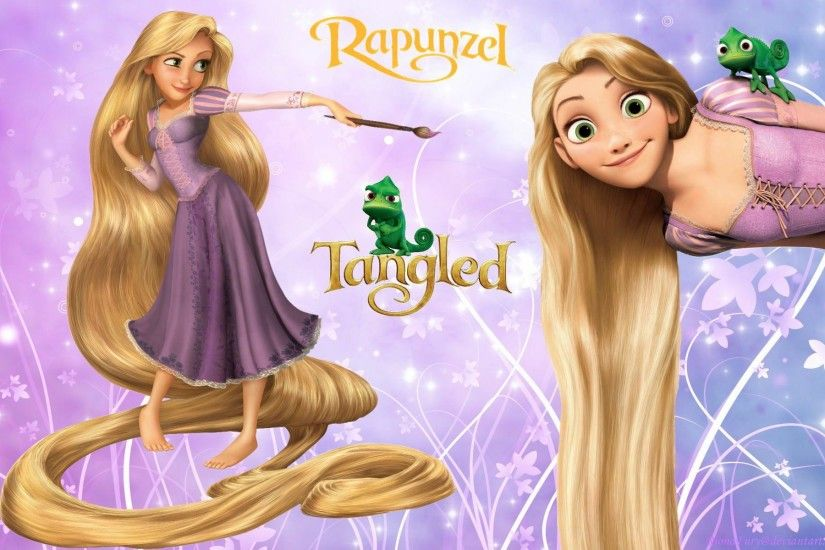 disney princess rapunzel desktop wallpaper