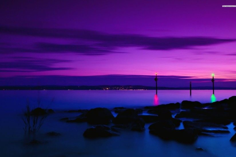 Purple Sunset 859662 ...