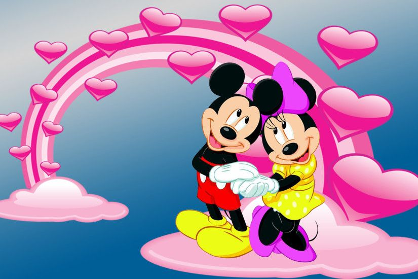 1920x1080 ... wallpaper hd; mickey minnie mouse kiss wallpaper for mobile  wallpapers13 com .