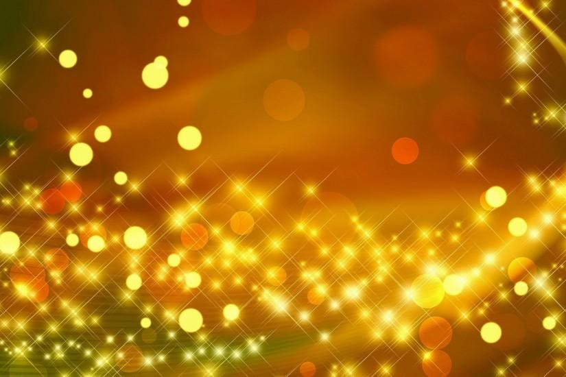Free Yellow Sparkle Wallpaper