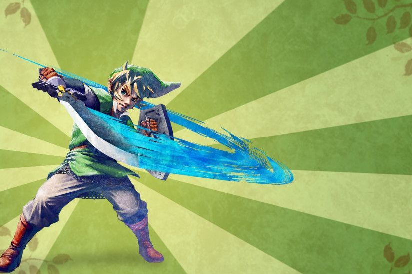 ... Skyward Sword Link wallpaper by H-Thomson