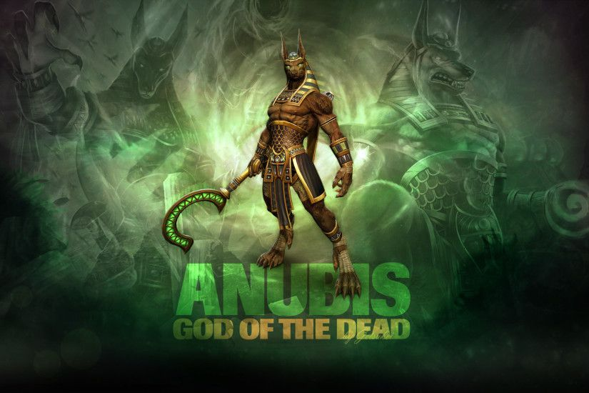 1920x1080 SMITE - Anubis, God of the Dead (Wallpaper) by Getsukeii on  DeviantArt