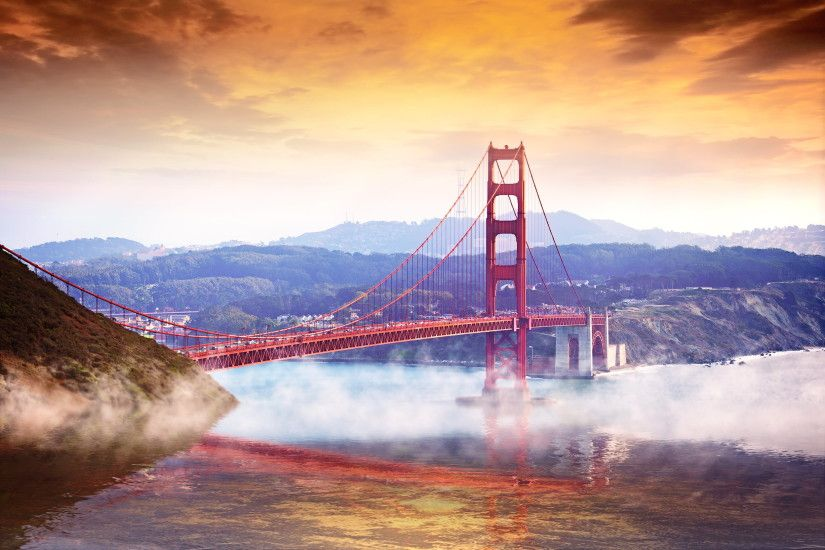 Golden gate bridge, reverie
