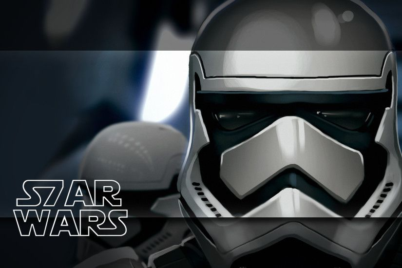 Star Wars VII Stormtrooper Wallpaper