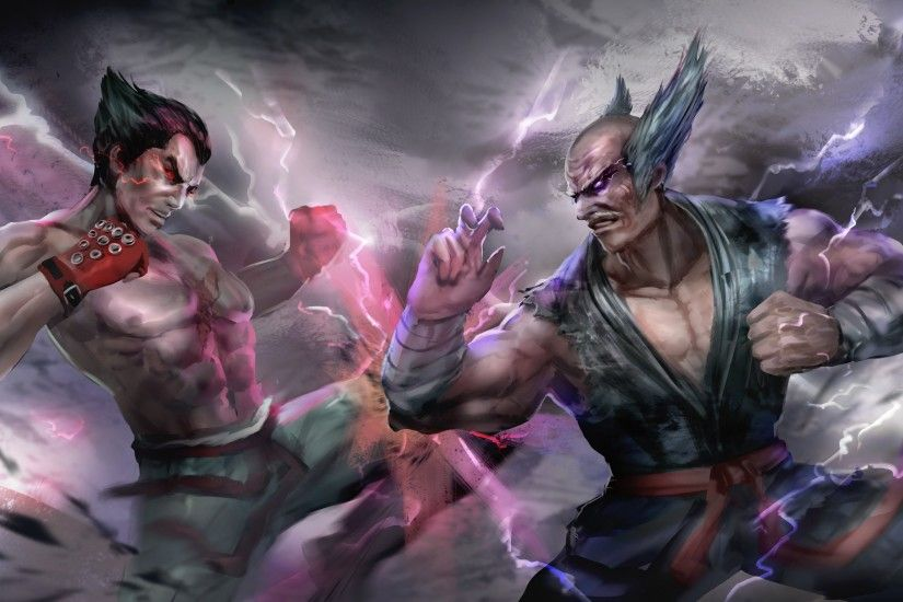 Video Game - Tekken 7 Kazuya Mishima Heihachi Mishima Wallpaper