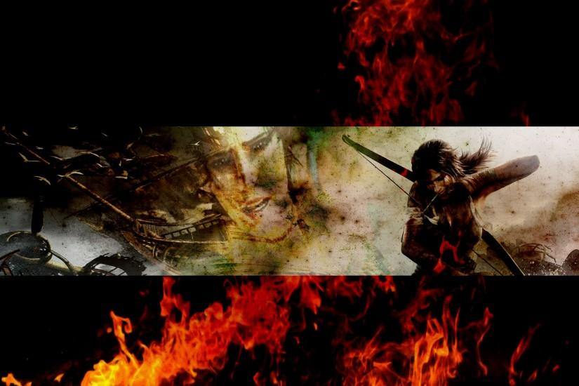 ... Tomb Raider 2013 YouTube Background by thepoweroffive