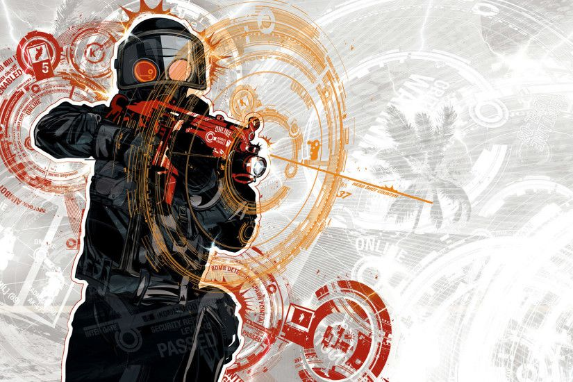counter-strike rifle bulletproof shot art ...