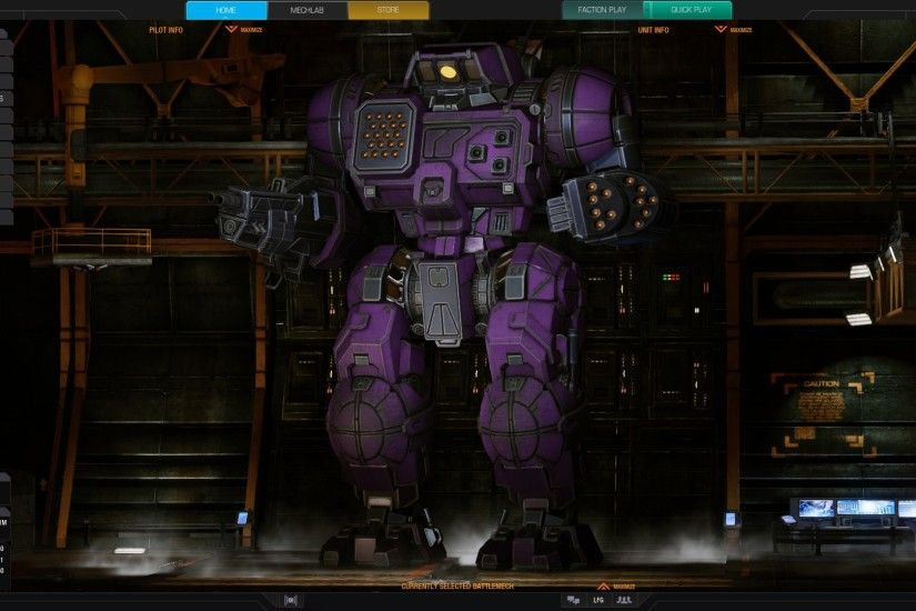 [Mechwarrior Online] I've made my Highlander IIC the Decepticon Shockwave!  (x-post r/mwo) ...