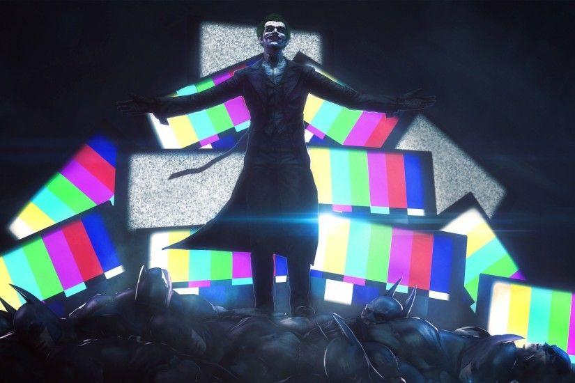 Preview Wallpaper Batman Arkham Origins Joker Dc Comics 2048x1152