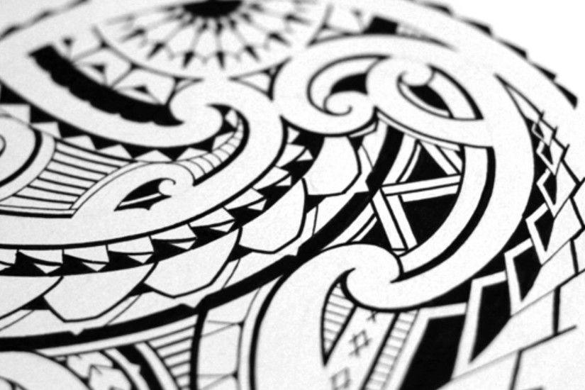Maori Tattoo Wallpaper