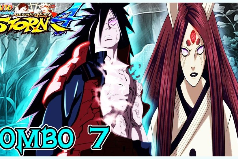 Naruto Storm 4 Combo# 7 [3 IN 1] Madara, Taka Sasuke, Kaguya and Zetsu  Obito 1080p HD