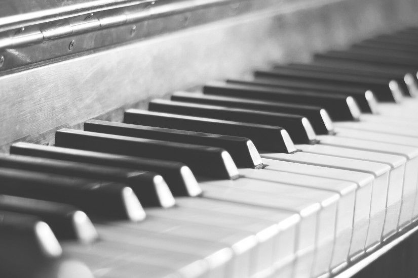 ... Images of Piano Keys Macro Wallpaper - #SC ...