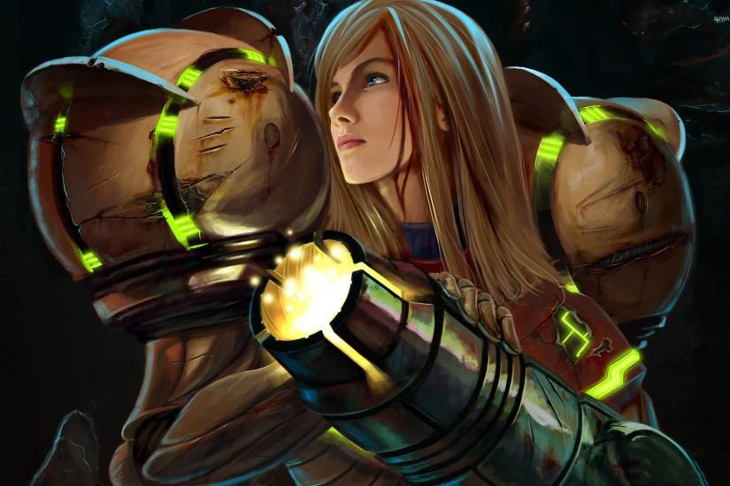 Samus Aran - Metroid Prime wallpaper - Game wallpapers - #17006