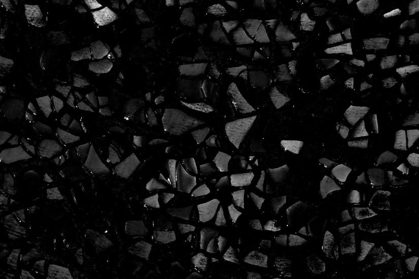 Black Broken Glass Background