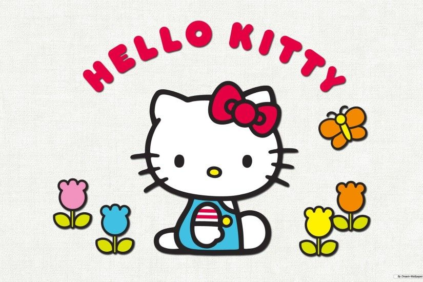 Free Wallpaper - Free Cartoon wallpaper - Hello Kitty 3 wallpaper