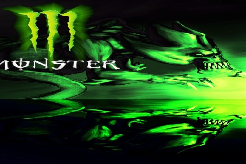 Pics Photos - Monster Energy Logo Wallpaper For Desktop