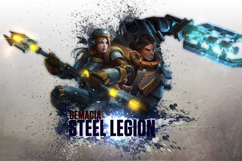 Lux And Garen - League Of Legends