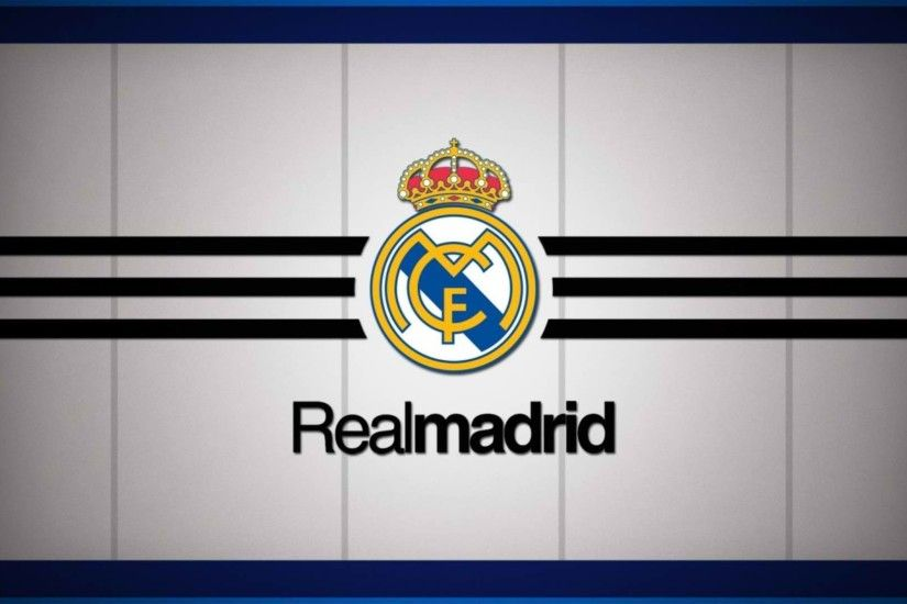 Real Madrid CF Logo Wallpaper | Wallpapers HD | Wallpaper High Quality