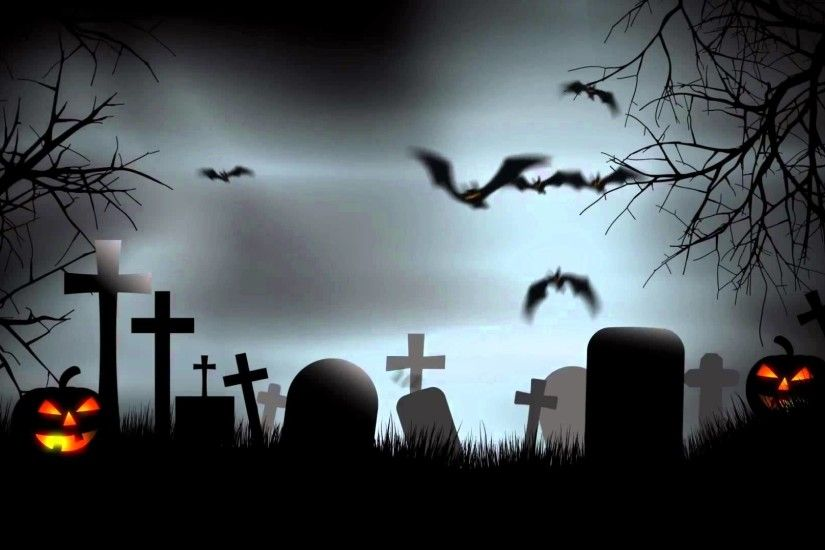 FunMozar – Halloween Hunted House & Graveyard Wallpapers