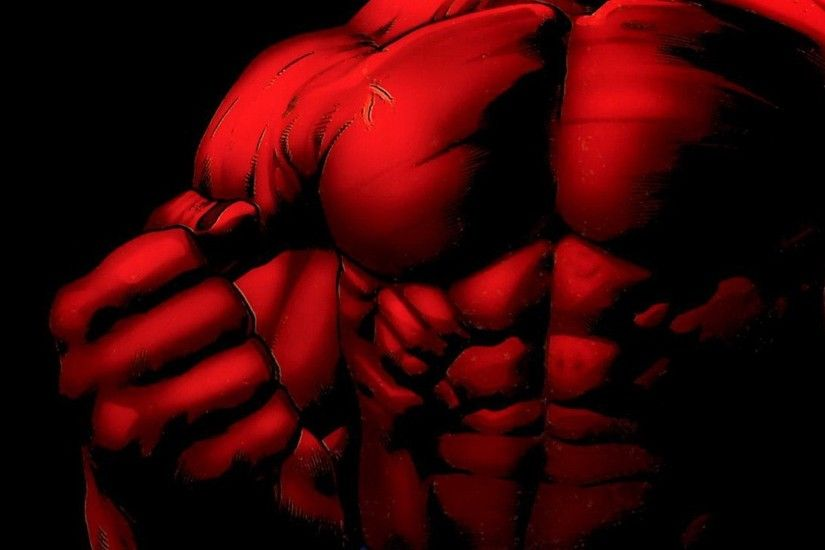 Red Hulk Wallpaper High Definition