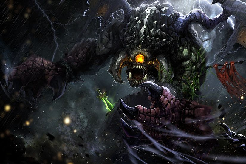 dota 2 game roshan epic hd. 1920x1080 1080p wallpaper and compatible .