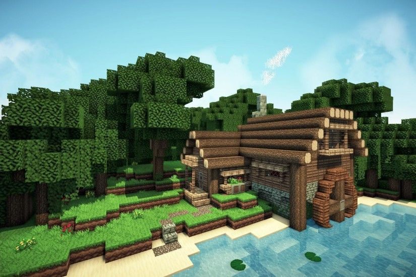 Epic Minecraft Background - Viewing Gallery