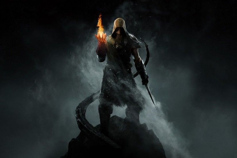 Video Game The Elder Scrolls V: Skyrim Skyrim Mage Wallpaper