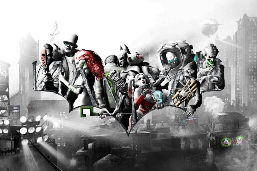 ... Mr Freeze, Joker, Scarecrow (character), Catwoman, The Riddler, Harley  Quinn, Batman: Arkham City Wallpapers HD / Desktop and Mobile Backgrounds