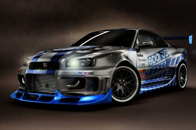 NIssan Skyline GTR Widescreen