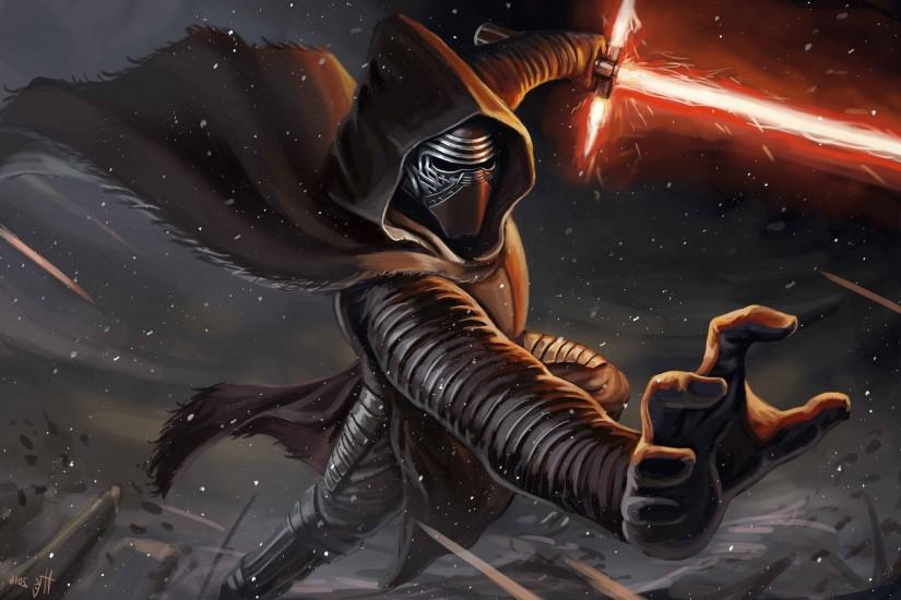 Kylo Ren, Star Wars, Artwork