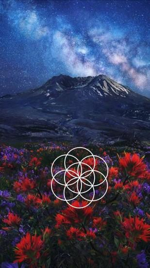 sacred geometry wallpaper 1440x2560 for desktop