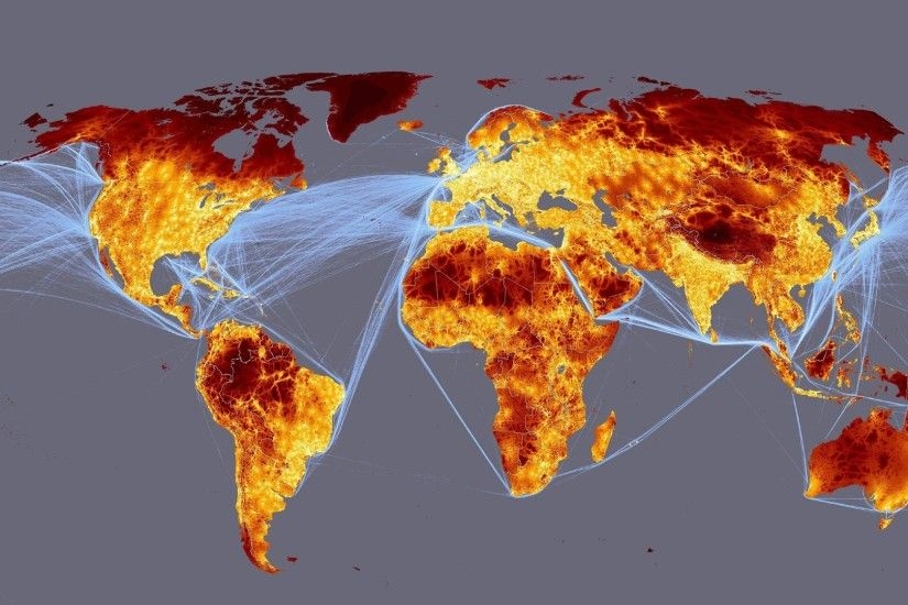digital traffic geography maps world map