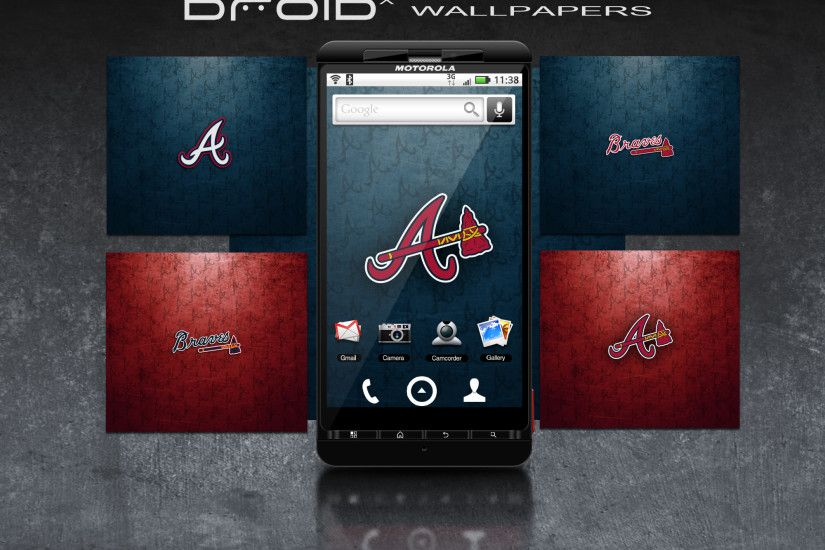 Braves Droid x Wallpapers by JayJaxon Braves Droid x Wallpapers by JayJaxon