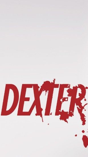 Dexter Series Logo #iPhone #6 #plus #wallpaper