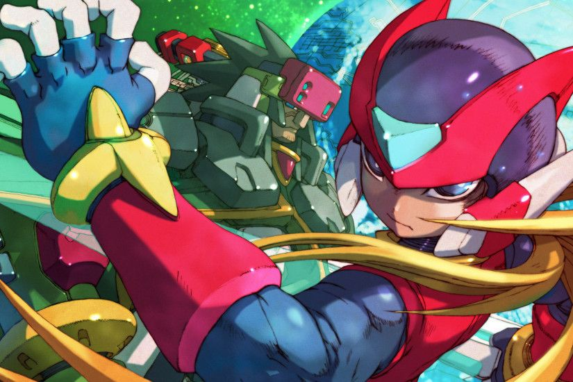 Video Game - Mega Man Zero 4 Wallpaper