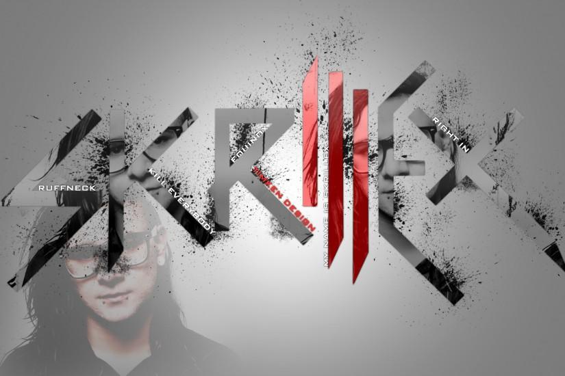 Skrillex FanArt Wallpaper by TimK3n