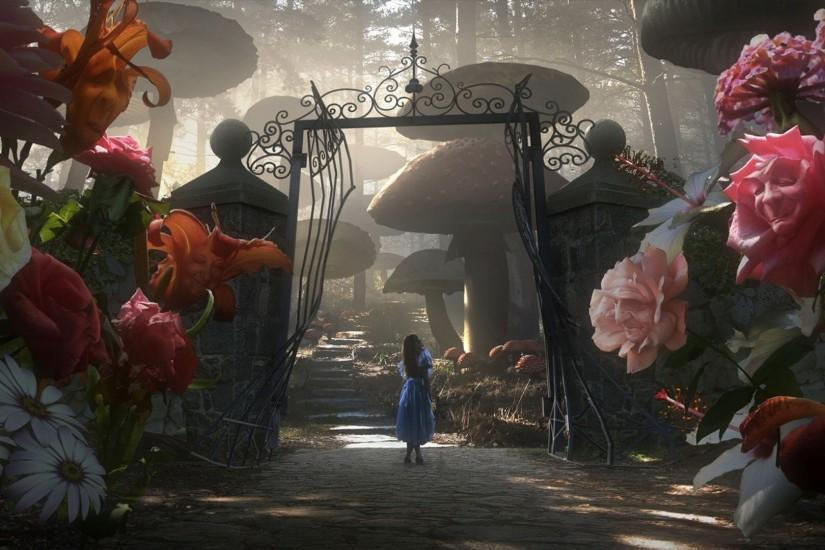 alice in wonderland wallpaper 1920x1080 hd 1080p