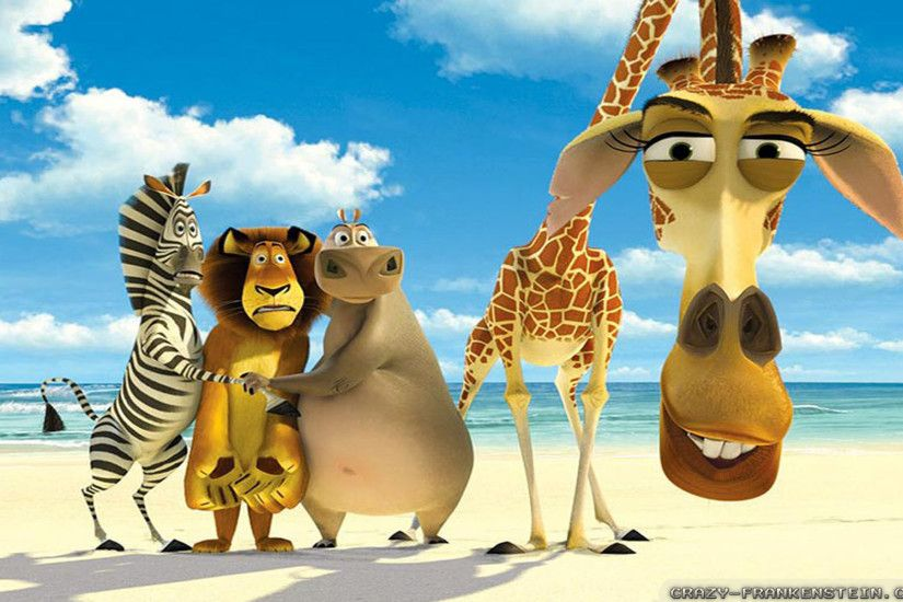 Wallpaper: Say Hi Madagascar escape 2 Africa movie. Resolution: 1024x768 |  1280x1024 | 1600x1200. Widescreen Res: 1440x900 | 1680x1050 | 1920x1200