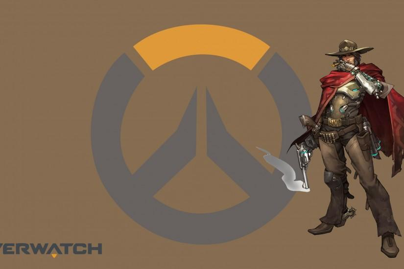 download free mccree wallpaper 2560x1440 picture