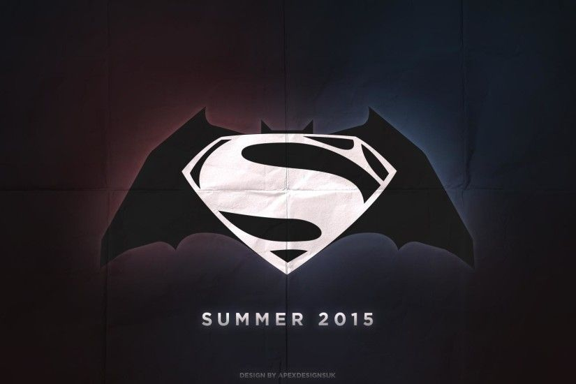 Check Wallpaper Abyss Images For > Batman Vs Superman Logo Wallpaper