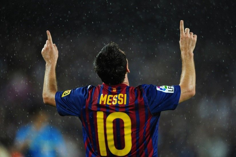 Happy Lionel Messi 1080p HD Sports Wallpaper
