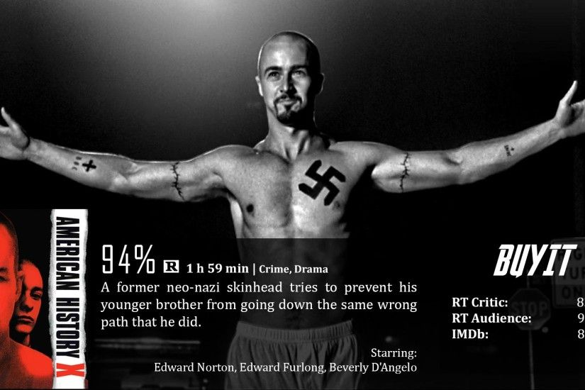 American History X Wallpapers | Movies Wallpapers Gallery - PC .