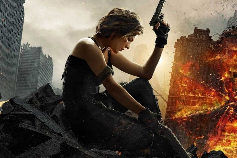 Resident Evil 6 The Final Chapter, Milla Jovovich