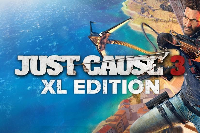 The XL Edition includes a digital copy of Just Cause 3 and the Air, Land  and Sea Expansion Pass: 3 incredible DLC packs and exclusive Flame Wingsuit  and ...